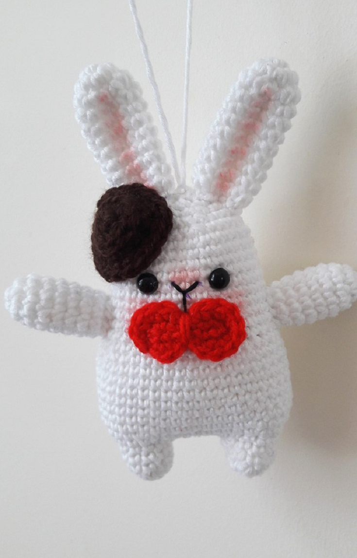 Gentleman bunny amigurumi pattern