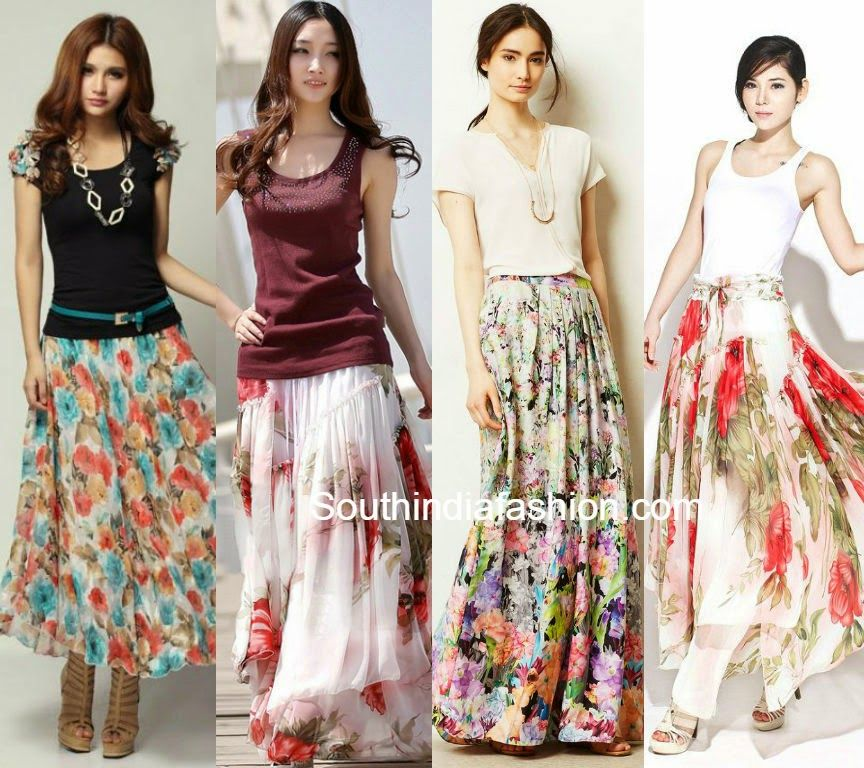 3656a3cc02 what to wear with indian long skirts Dress Indian Style, Indian Dresses,  Plain Tees