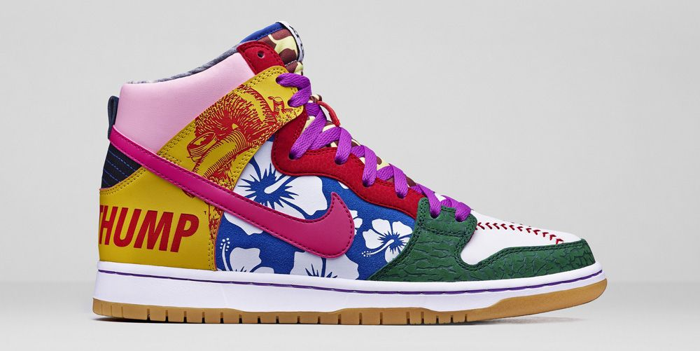 info for 2b8dd d4d7f Nike Dunk High Premium Foxboro High top Nikes if you like style Pinterest  Custom  Woody Toy Story Nike Dunk High Tops Sneaker 76.00 ...