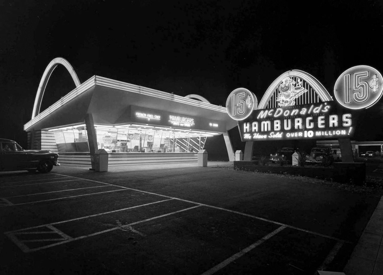 McDonald?s, Downey, California, September 6, 1954 Photo