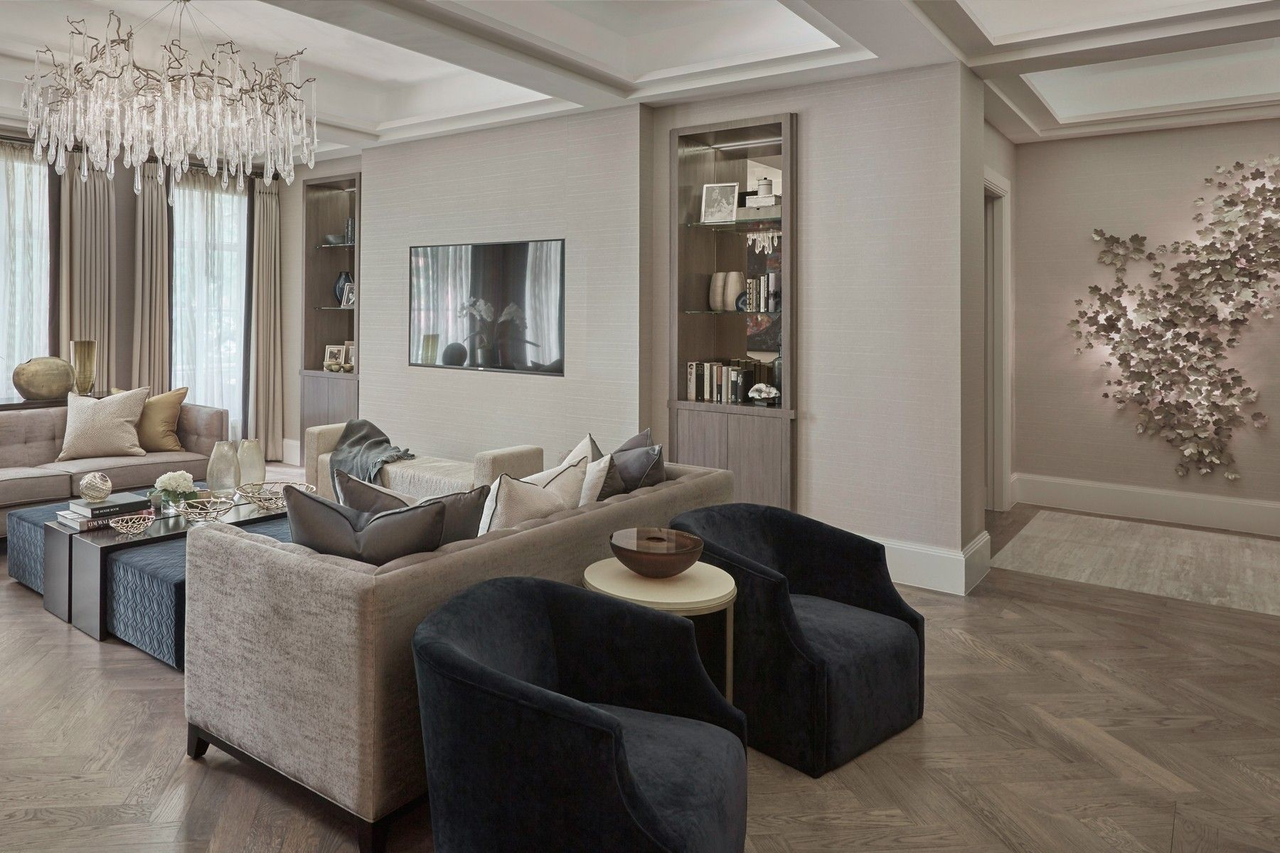 Znalezione Obrazy Dla Zapytania Laura Hammett  Interiors  Living Captivating Interior Design Modern Living Room Design Ideas