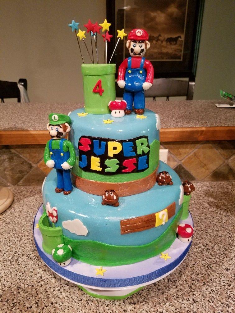 Mario cake cake piece of cakes mario cake