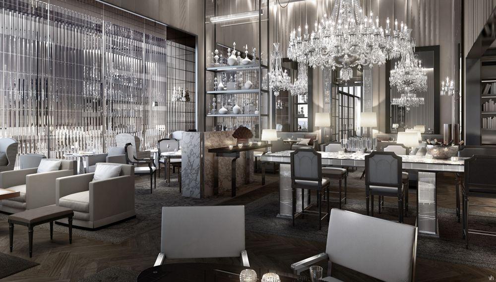 Sneak Peek Baccarat Hotel And Residences New York Hoteles Restaurantes Disenos De Unas
