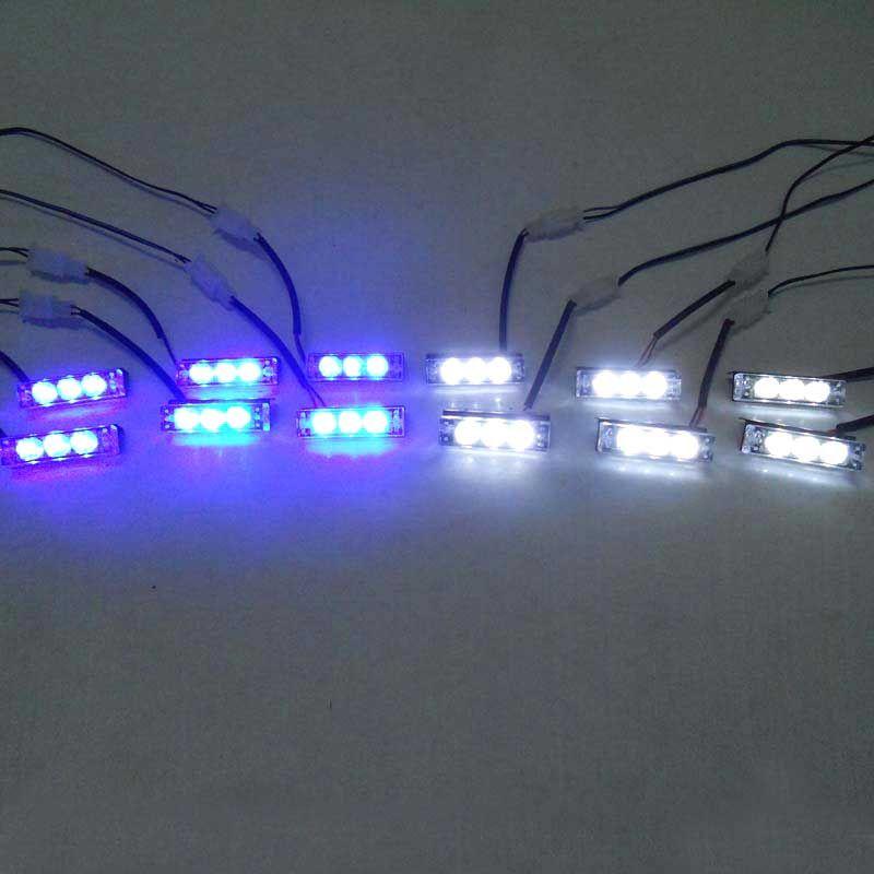 Car FREE SHIPPING ED Warning Lights Flash Light.Police Light Flashing  Emergency Firemen Lamp 3
