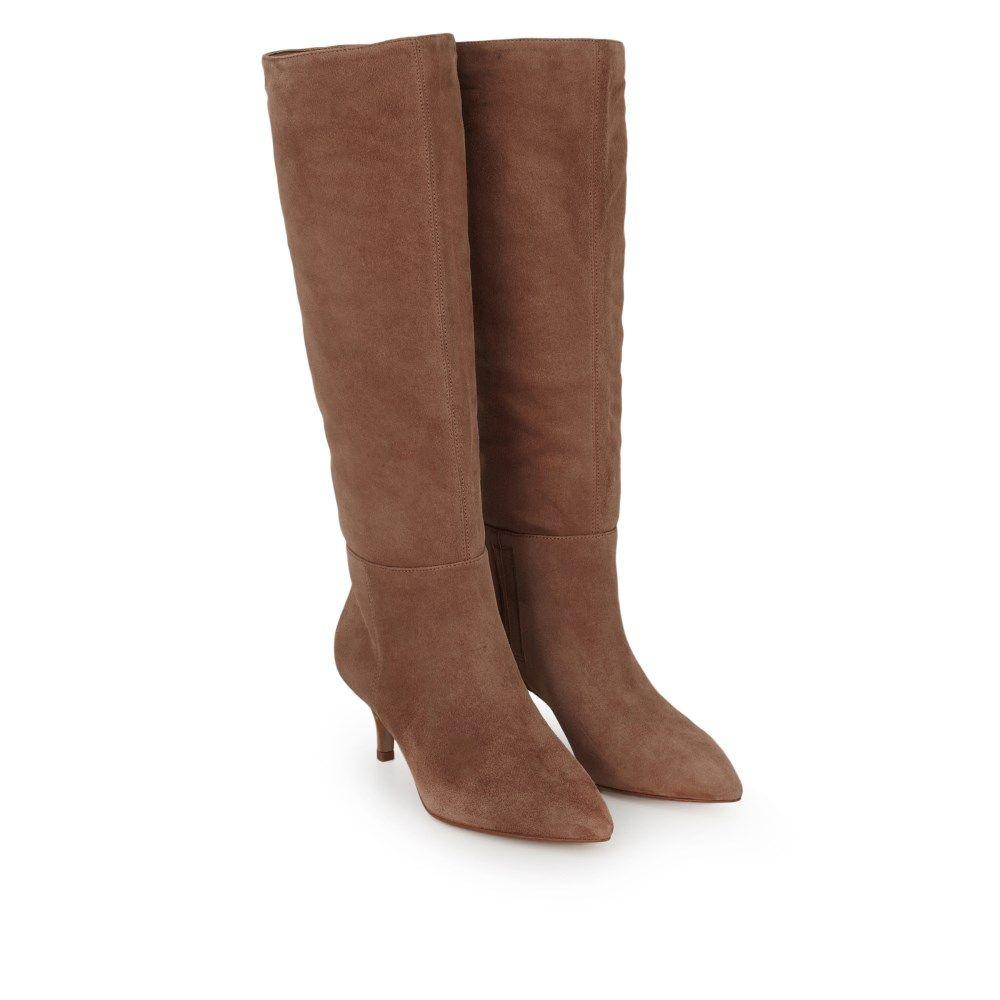 Kalia Tall Kitten Heel Boot Boots Samedelman Com Heeled Boots Kitten Heel Boots Boots