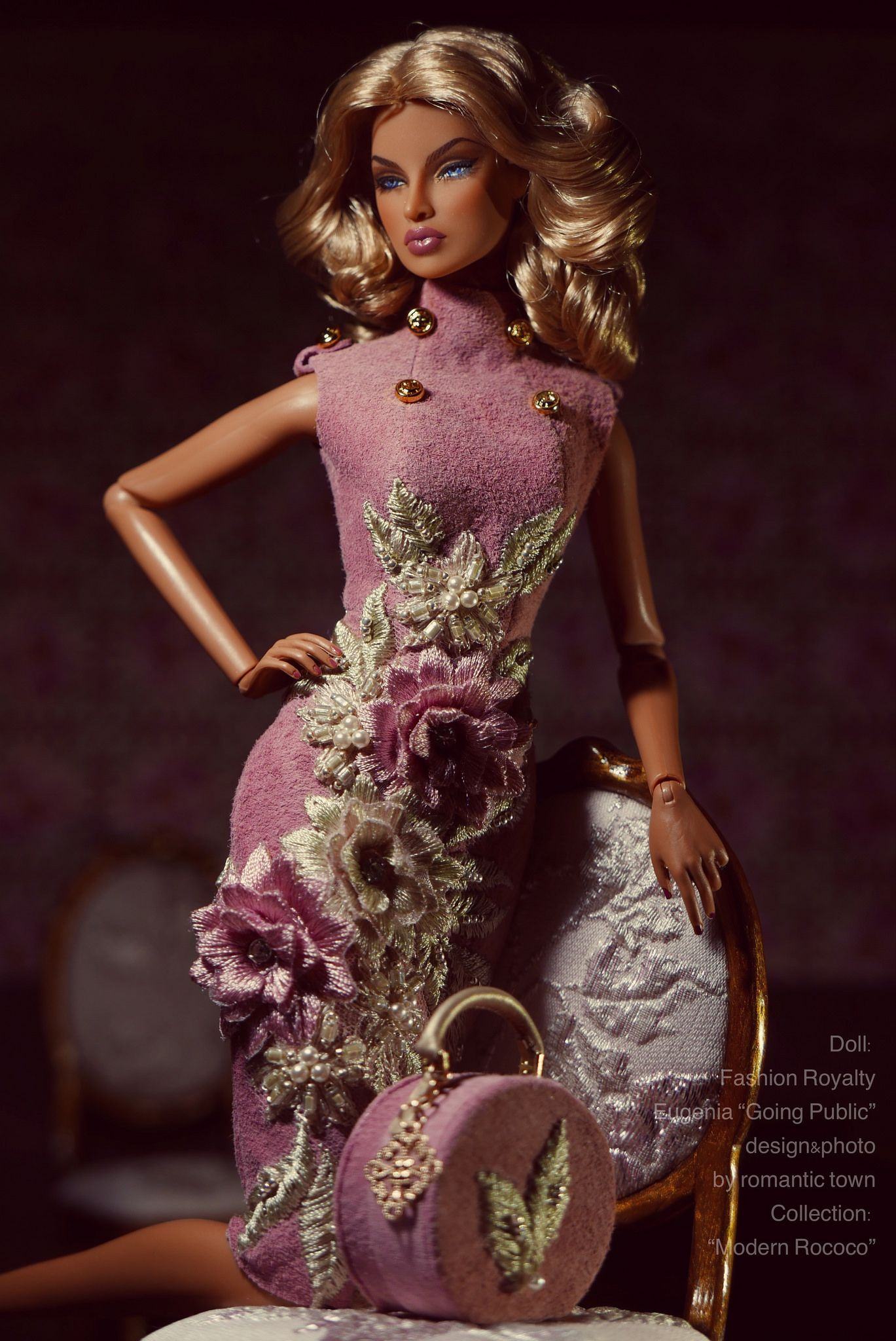 Sherry shoes for Fashion royalty Ⅱ FR2 Nu Face 2 body doll integrity toys