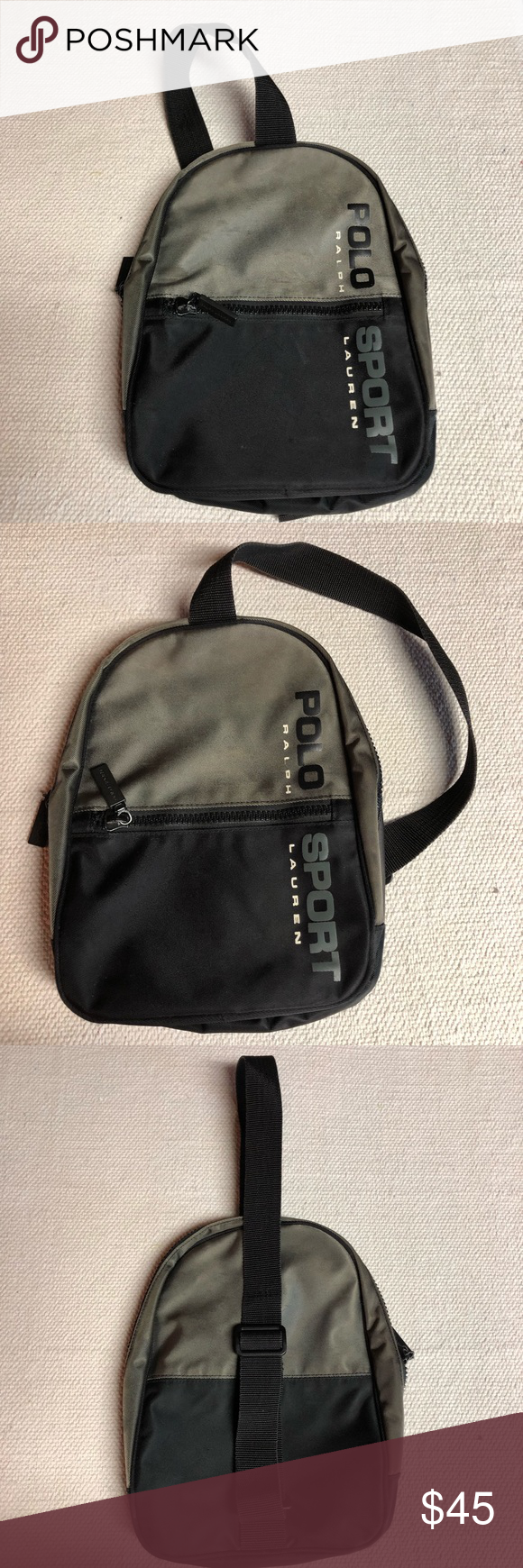 ab0761d644 Vintage Ralph Lauren Polo Sport Nylon Sling Bag Up for sale is an awesome  Vintage Ralph