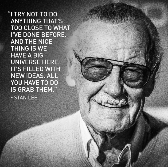 Awesome Stan Lee Quote Rip 2018 Stan Lee Quotes Stan Lee Man Lee