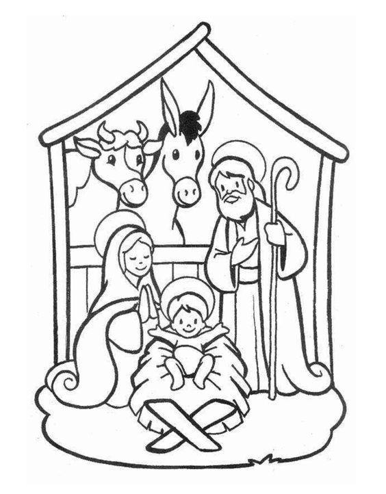 Dibujos navideños para colorear e imprimir gratis   Navidad