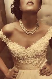 lace vintage prom dresses - Google Search