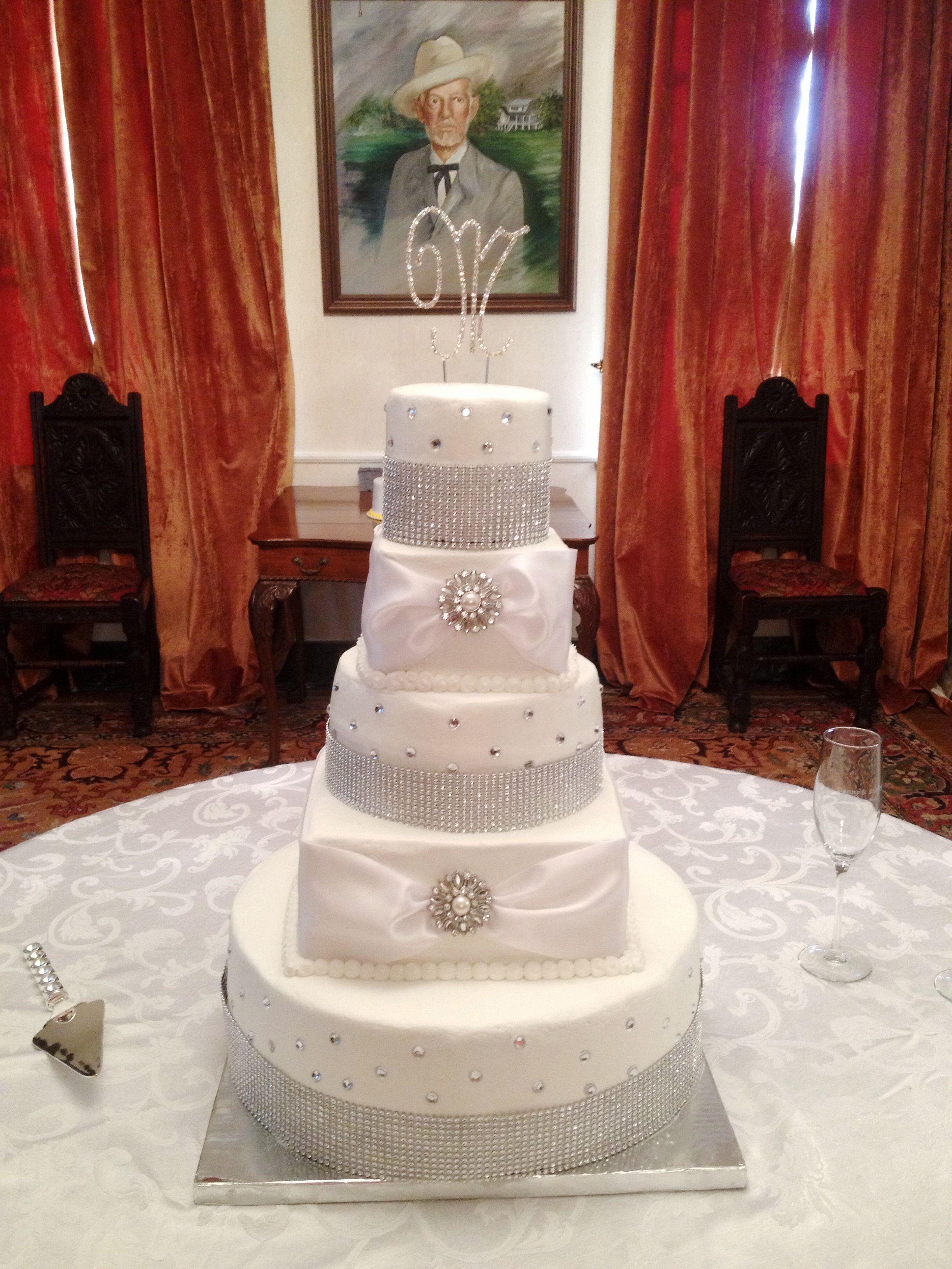 Diamond Wedding Cake Bake Your Day Llc Alexandria La Www