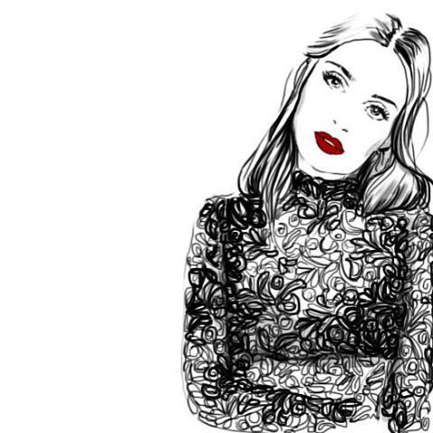 The beautiful Thaila Ayala @thailaayala #thailaayala #actress #illustration #fashionillustration #draw #drawing #drawingoftheday #monicaruf