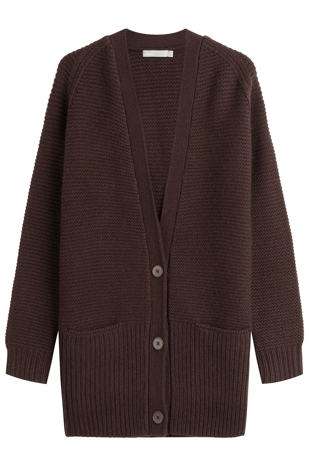 Wool and Cashmere Cardigan - Vince | WOMEN | US STYLEBOP.COM ...