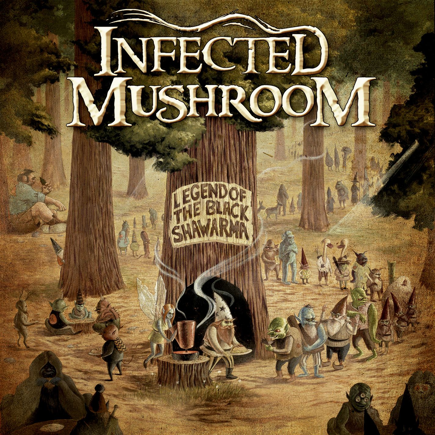 Infected Mushroom Songs Awesome infected mushroom - legend of the black shawarma | music