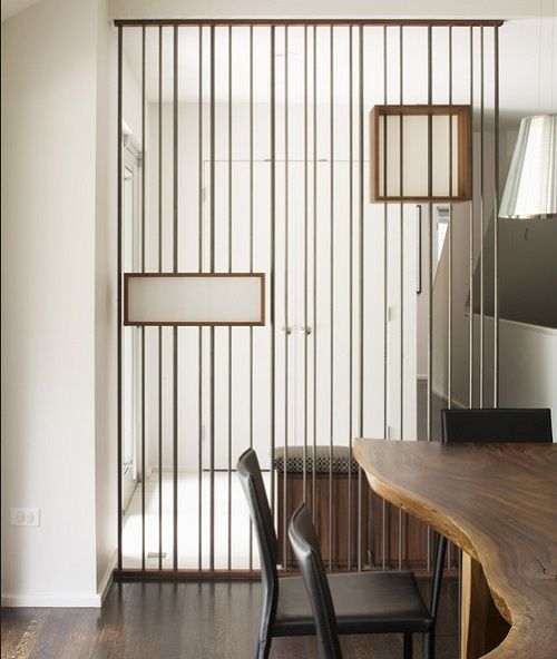 Modern Stainless Steel Room Divider Screen Ideas By Hufft Projects Room Divider Walls Room Divider Headboard Room Divider Curtain