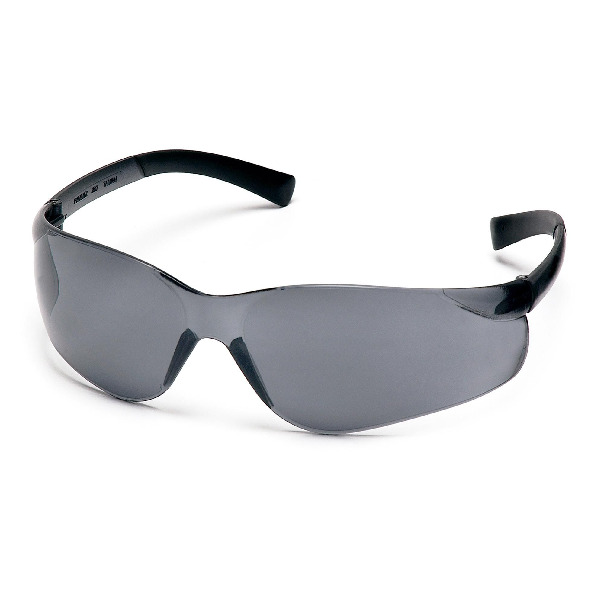 d37d72a2db76 Pyramex Safety Products - Ztek Safety Glasses - Gray Lens with Gray Temples