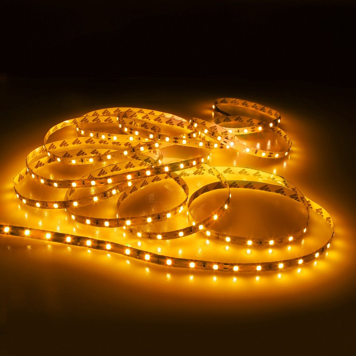 Le 12v Led Strip Light Flexible Smd 2835 16 4ft Tape Light For Home Kitchen Party Christmas And More Non Waterproof Warm White 12v Led Strip Lights Led Strip Lighting Strip Lighting