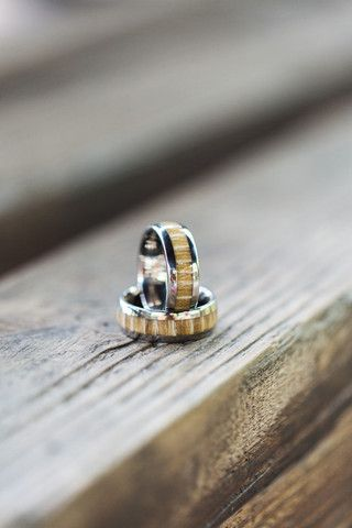 Exotic Wood | Smith and Mason - love these unique men's rings