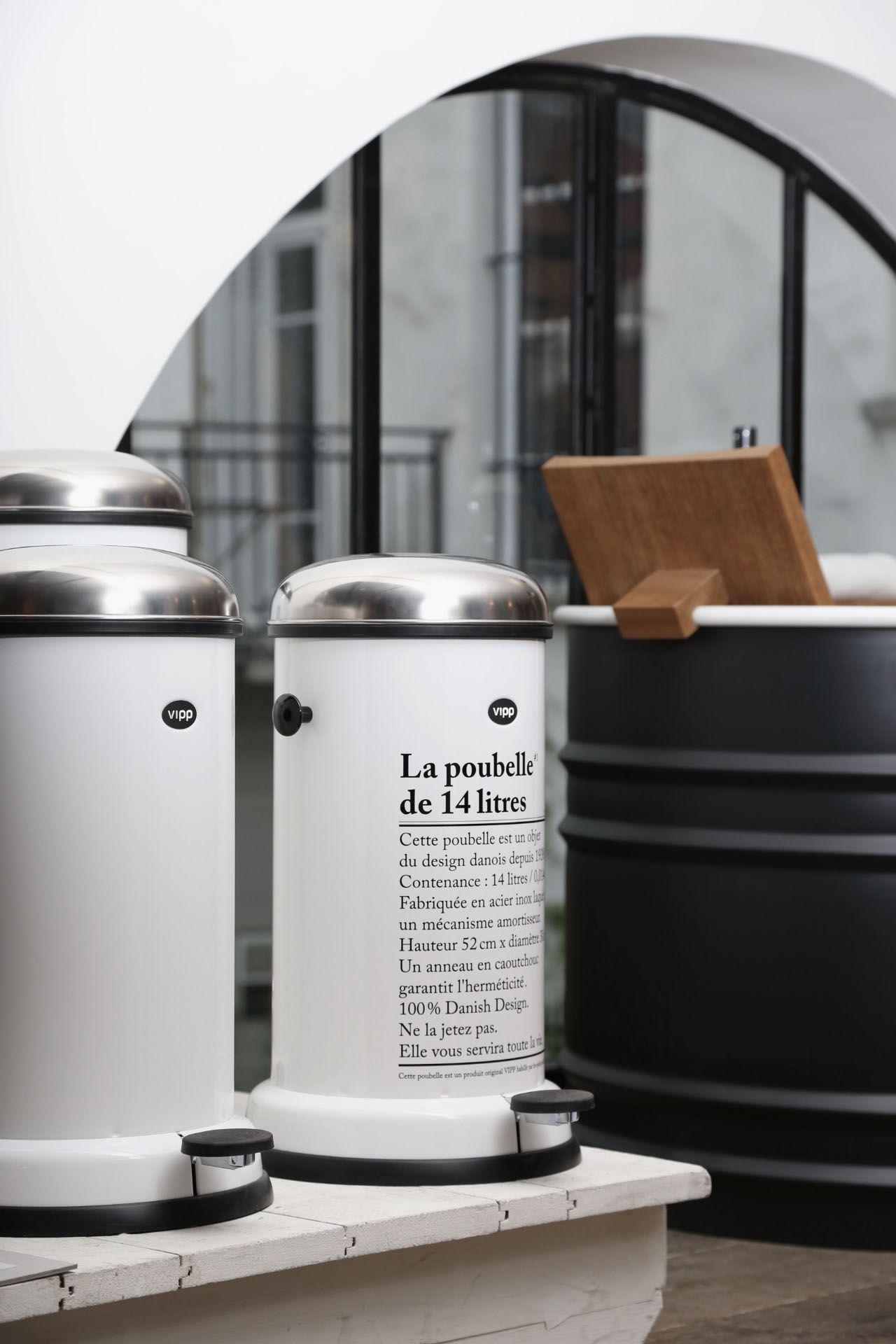 Poubelle Vipp la poubelle vipp #mercishopparis | m e r c i | pinterest | interiors