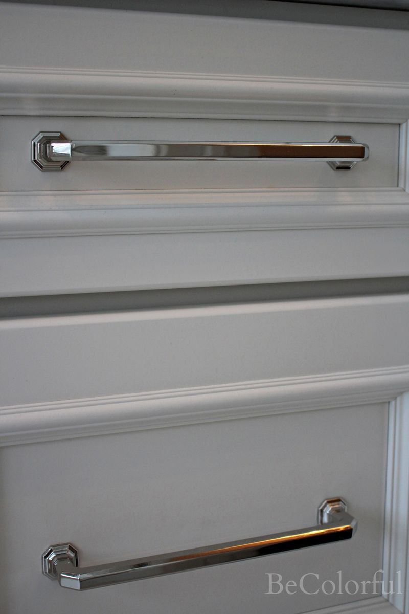 Chareau Drawer Pulls By Top Knobs In Polished Nickel For Dining Room Built