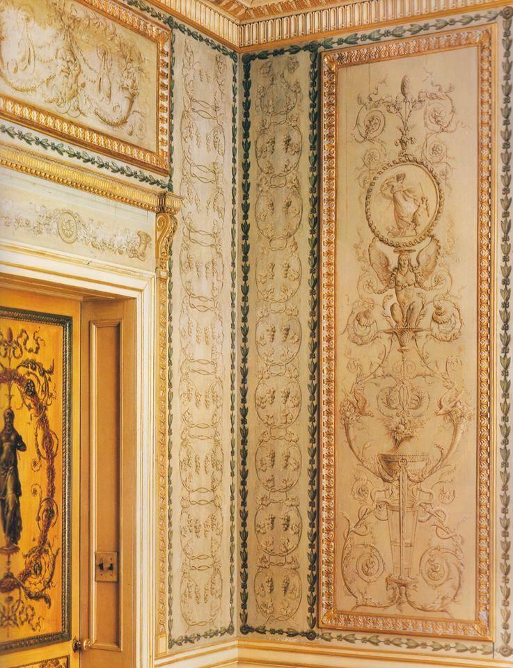 Salle à manger intime du duc du0027Aumont conçue par Pierre-Adrien Pâris - salle a manger louis
