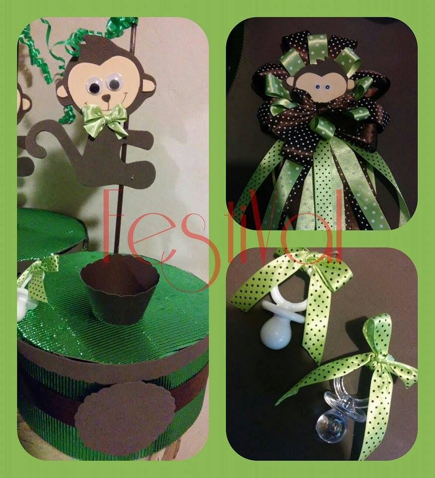 Pin En Corsage Baby Shower