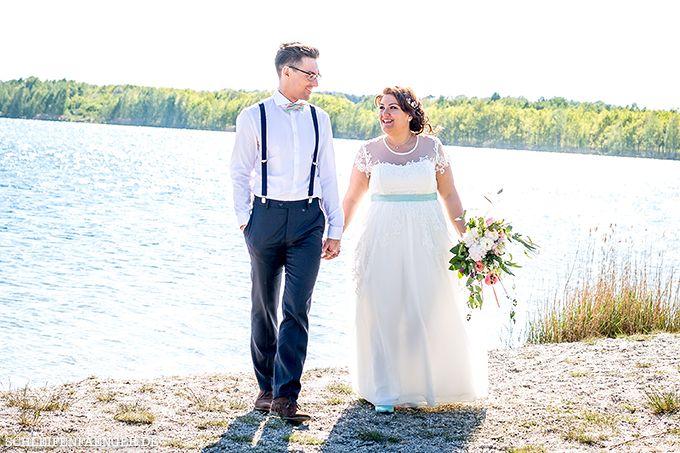Franziska heiratet im Vintage-Spitzenkleid mit T ll und Seideng ...