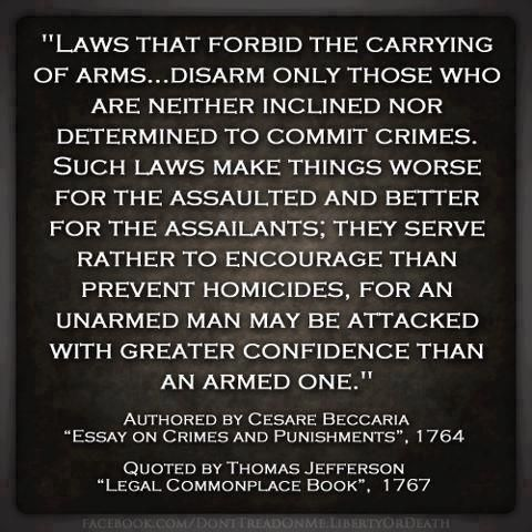 Founders on the 2nd Amendment http://captainjamesdavis.wordpress.com/category/2nd-amendment/