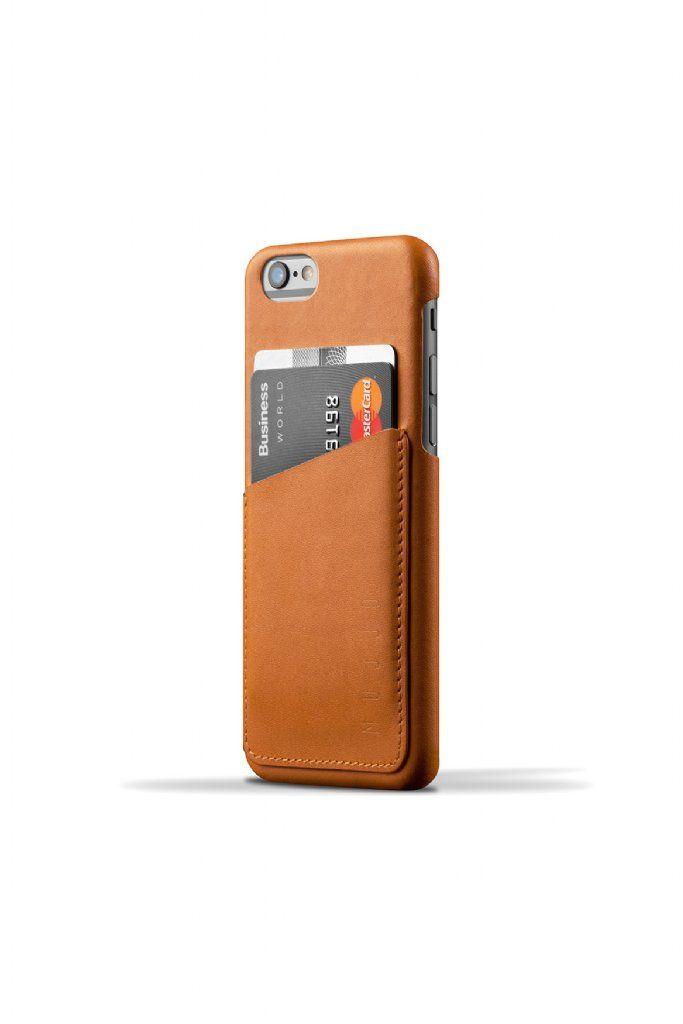 Mujjo iPhone 6 plånbok skal - Äkta läder  17eee7281c601