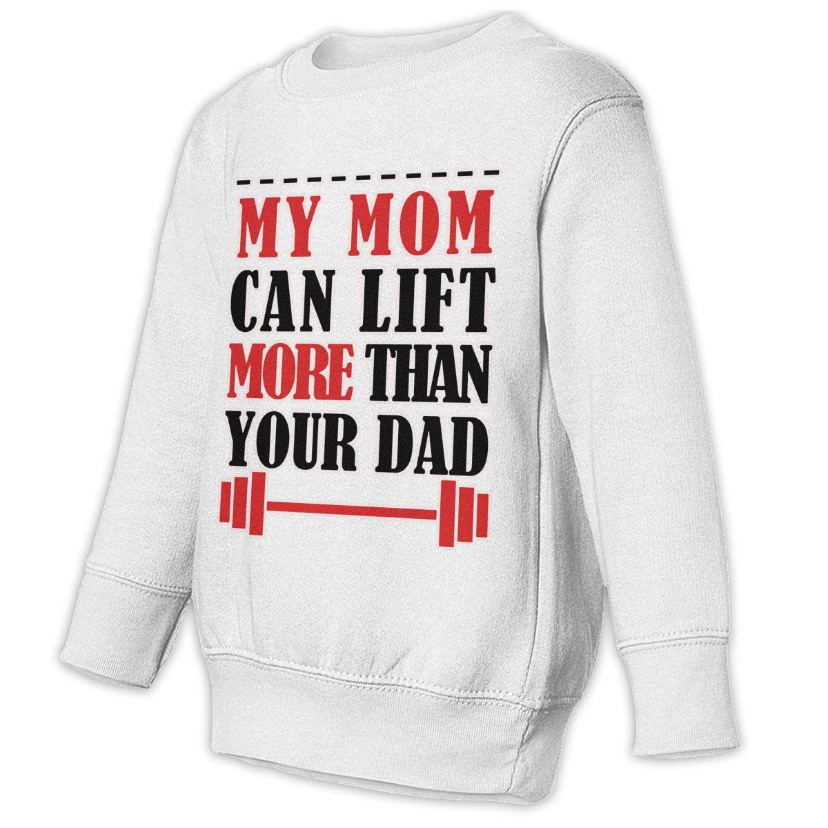 b643cc83 My Mom Can Lift More Than Your Dad Baby Sweatshirt Cute Kids Hoodies  Comfortable Outfits * Make certain to look into this awesome item.