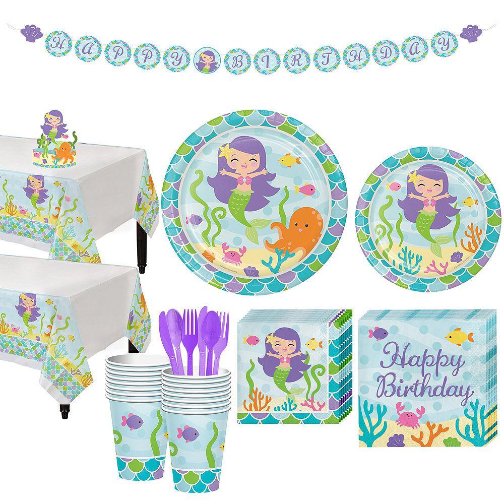Wishful Mermaid Balloon Kit Party City Mermaid