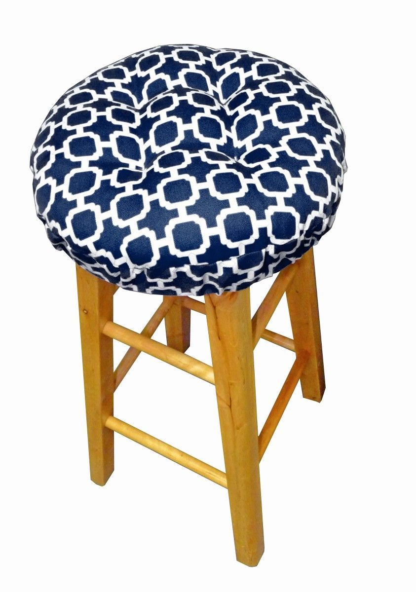 hockley navy indoor outdoor bar stool covers latex foam bar stool