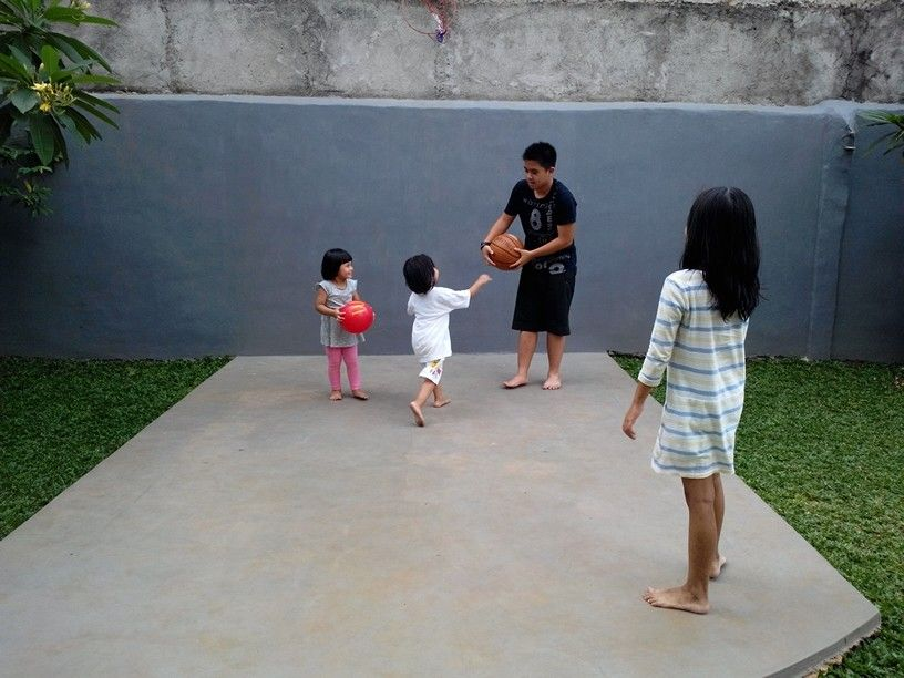 Playing together,family time