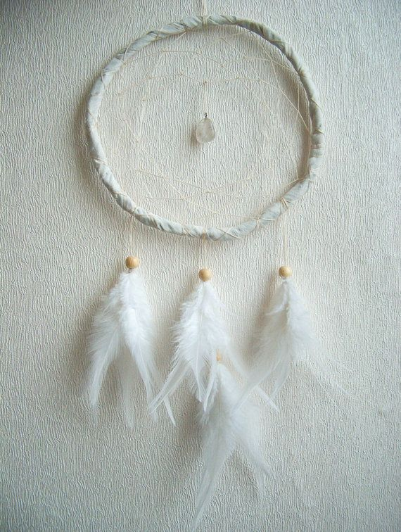 Dream Catcher Pure Magic With Unique Crystal by bohonest on Etsy