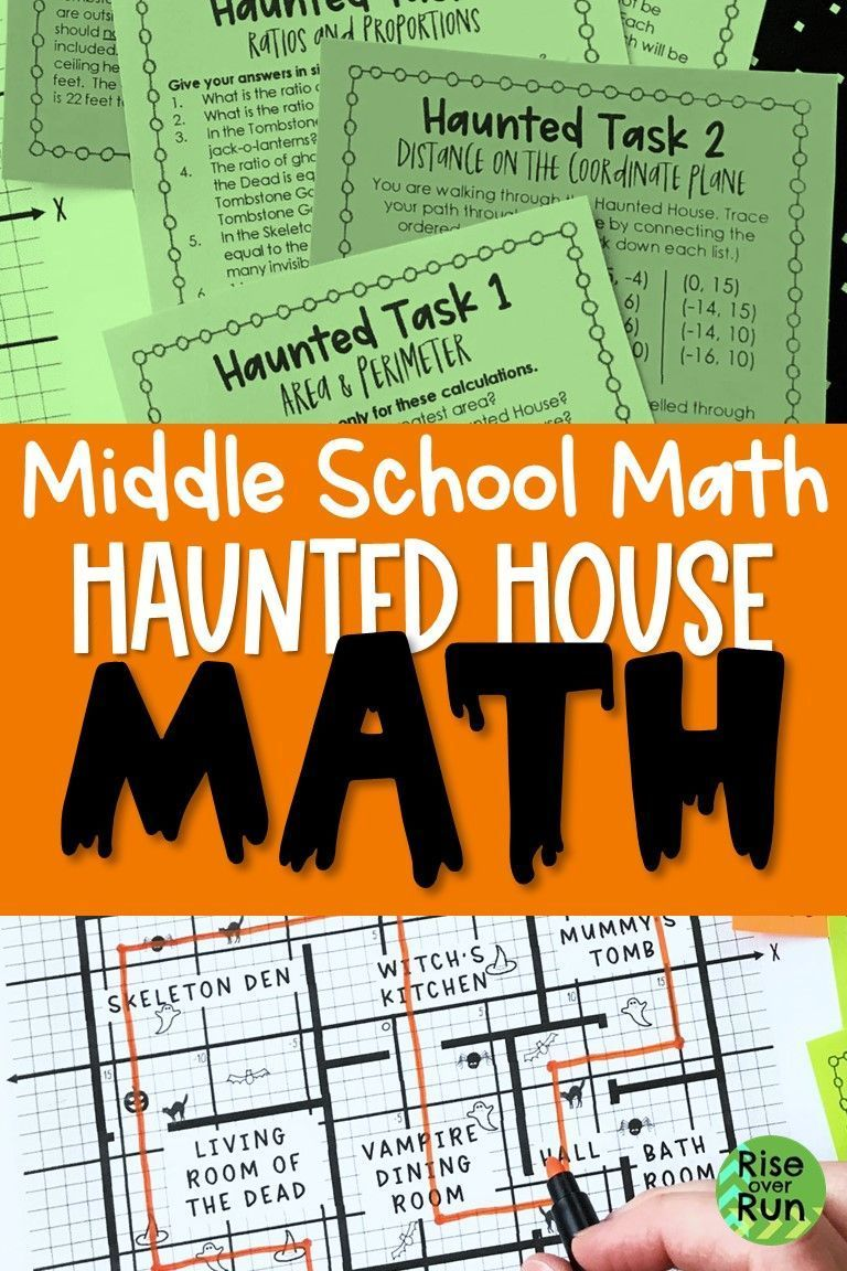 Halloween Math For Middle School Halloween Math Activities Fun Math Activities Math For Middle School