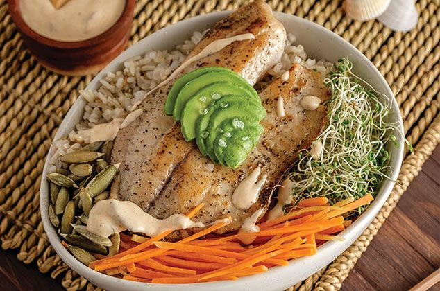 dieta pescado y arroz