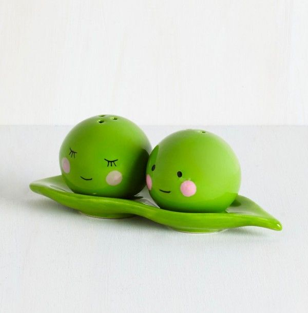 Cool Kitchen Stuff: 50 Unique Salt & Pepper Shakers To Spice Up Your Table
