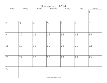 November 2014 Calendar With Jewish Holidays Free To Download And