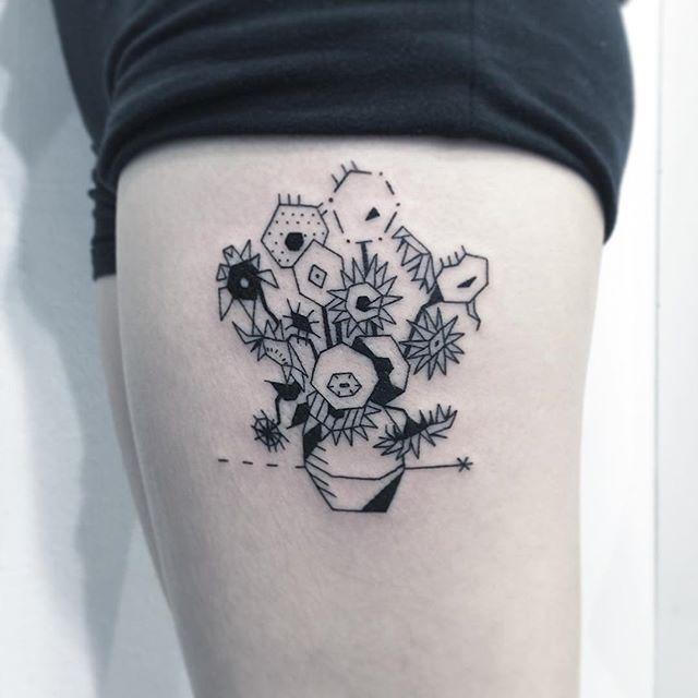 ✖️빈센트 반 고흐 -해바라기✖️ . (Vincent Van Gogh - Sunflower) . . #타투 #그림 #아트 #그림타투 #디자인…