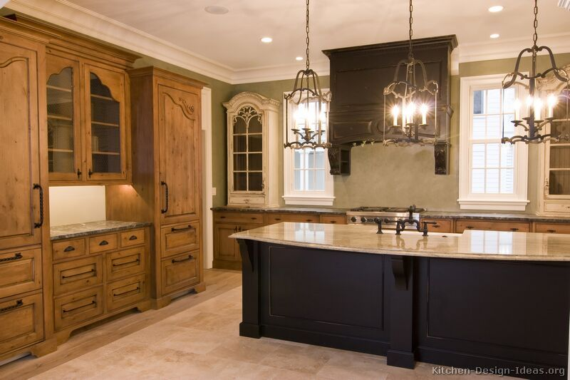 Tuscan Kitchen Design #23 Kitchendesignideas Love The Fair Kitchen Designs With Oak Cabinets Decorating Inspiration