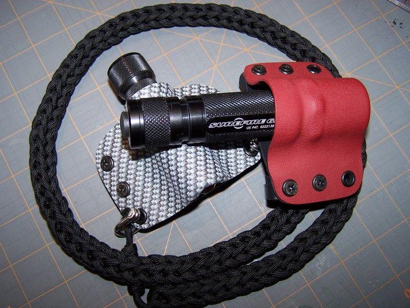 Diy kydex work flashlight holster kydex custom kydex