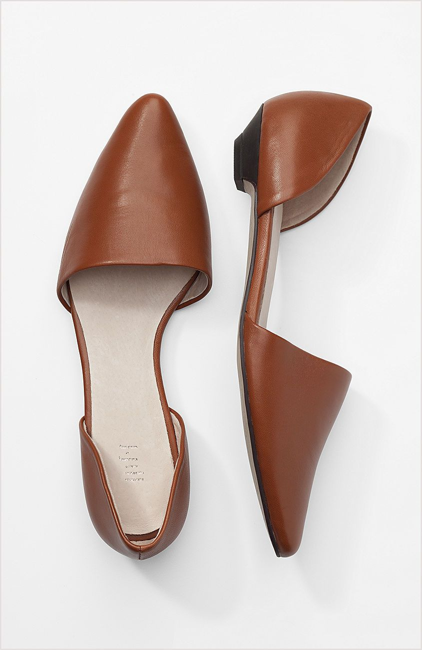 Shoes D Orsay Leather Skimmers At J Jill Clothes For Women Jjill Shoes