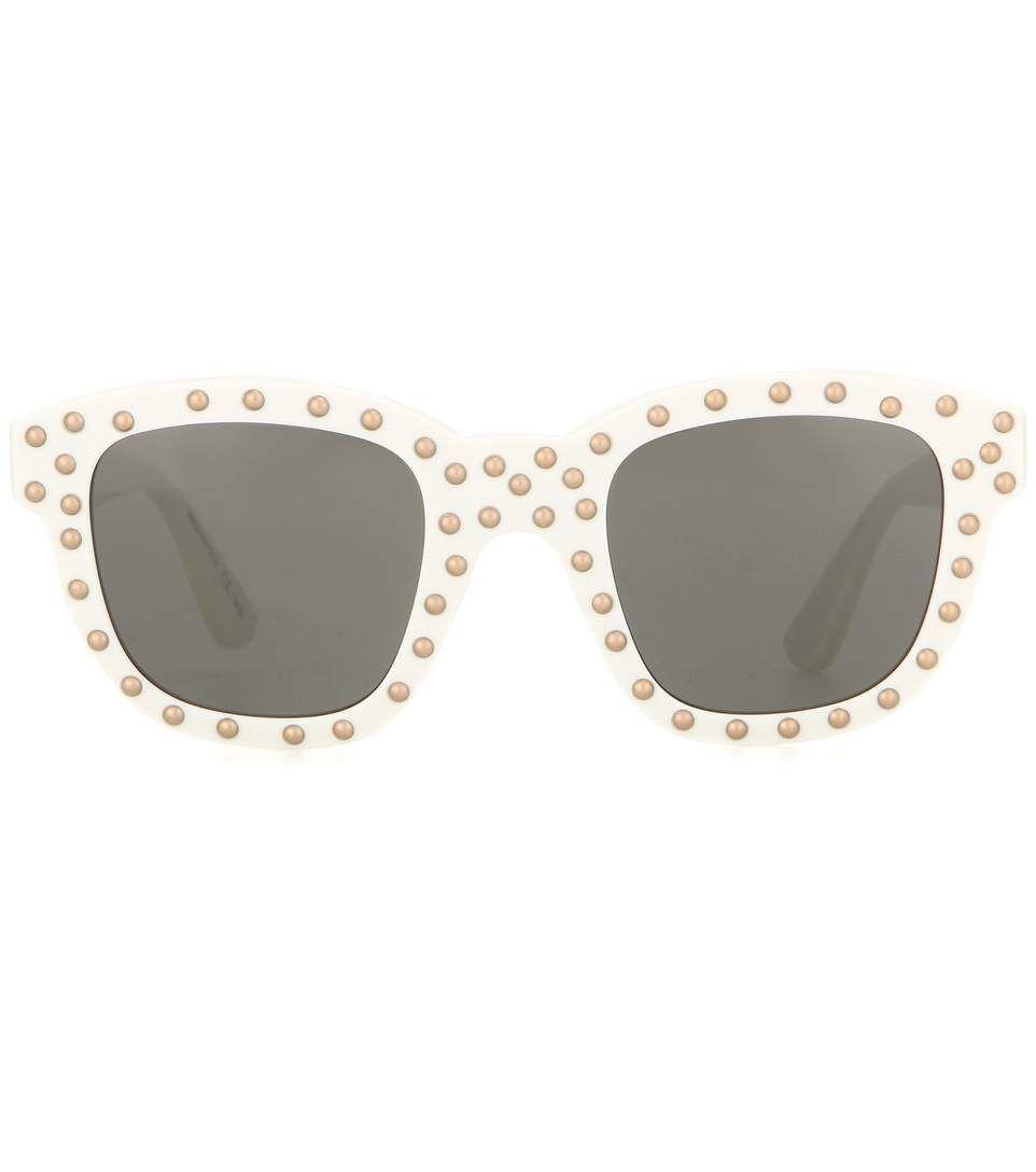 mytheresa.com - Lou 48 studded sunglasses - Luxury Fashion for Women / Designer clothing, shoes, bags