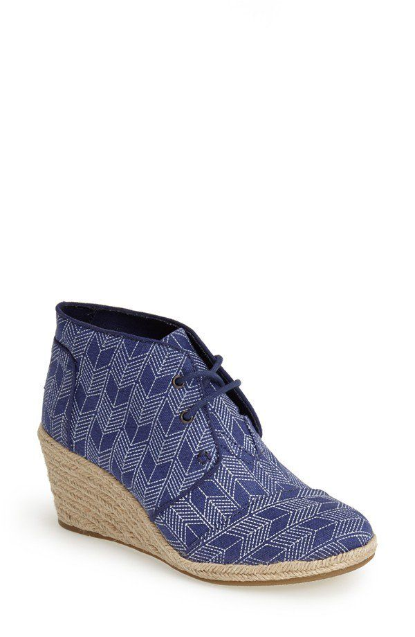 b748667e2c3 TOMS Espadrille Wedge Bootie. Wedge BootieEspadrille WedgeToms EspadrillesWomens  TomsMy TripTom ShoesInk ...