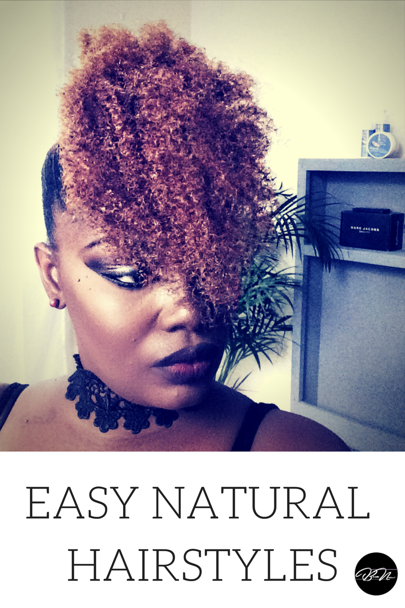 Natural should be fun and full of personality here are the easiest