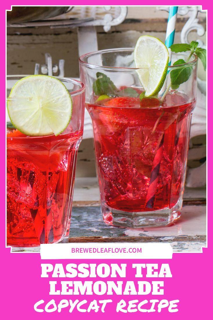 Photo of How To Make a Tropical Passion Tea Lemonade – Brewed Leaf Love