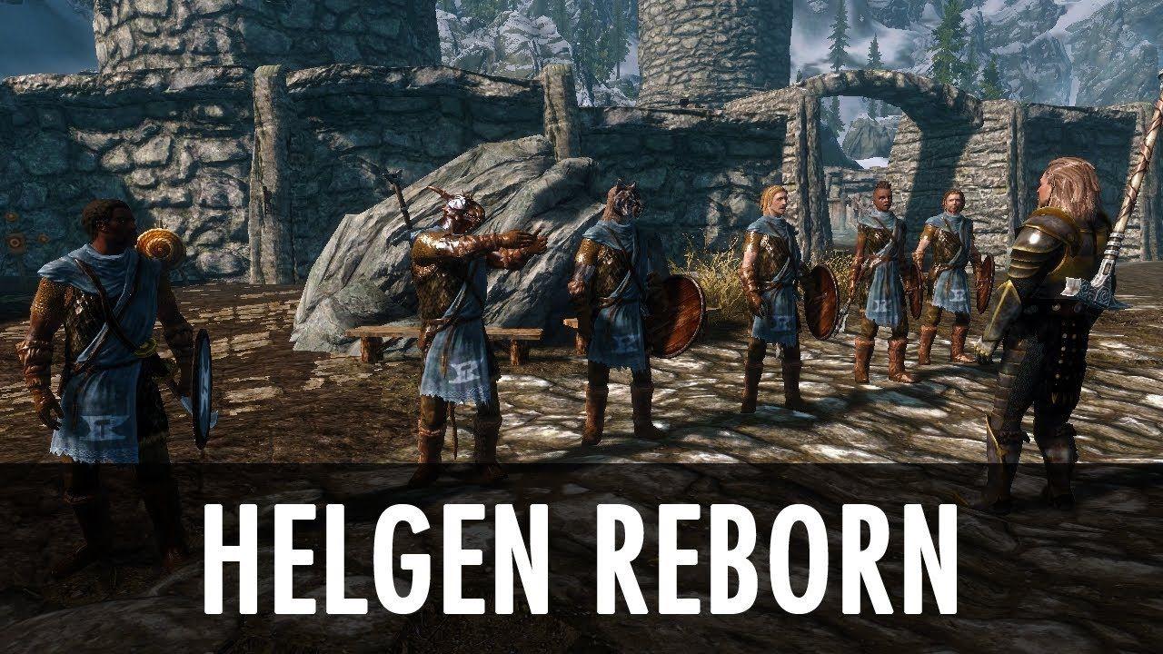 Skyrim Mod: Helgen Reborn Hands down best mod  Blew my mind