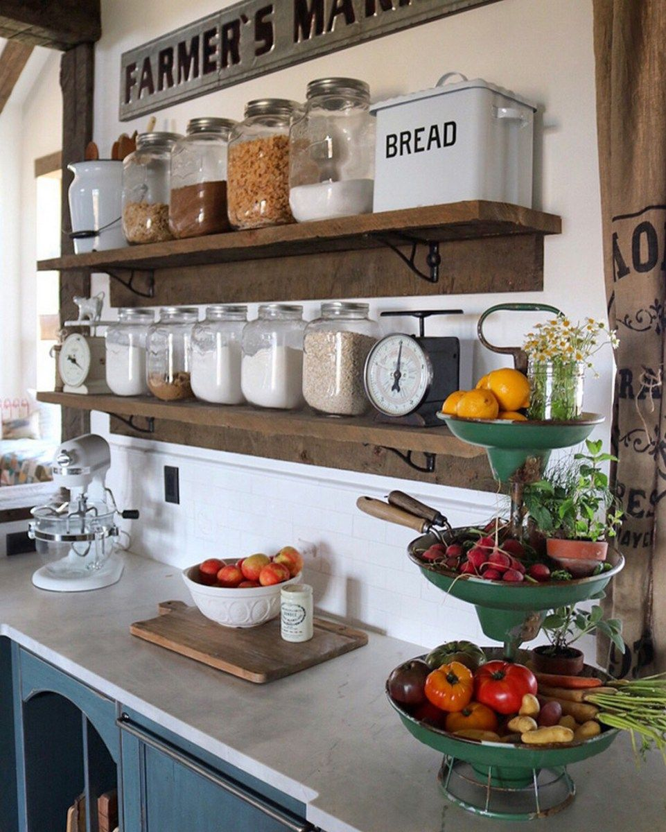 99 Farmhouse Kitchen Ideas On A Budget 2017 (37