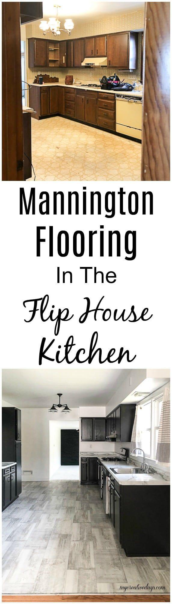 Mannington Flooring In The Flip House Kitchen Mannington