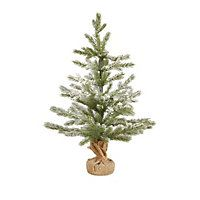 2ft Green Snowy Artificial Christmas Tree Artificial Christmas Tree Real Christmas Tree Homebase